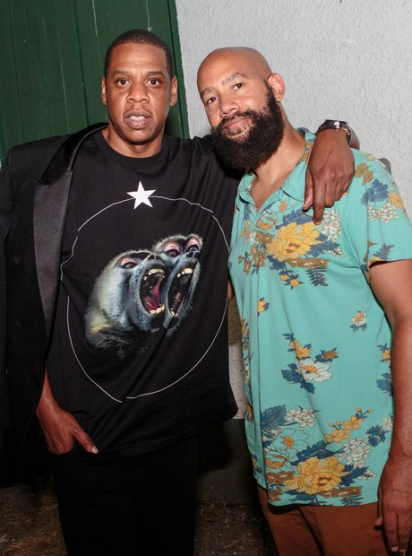 Jay-Z and Alan Ferguson