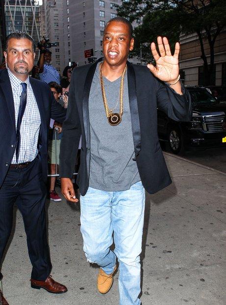 Jay Z Chain 'Southpaw' Premiere