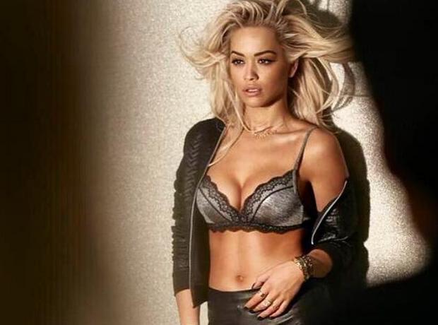 Rita Ora Bra Shoot Teaser