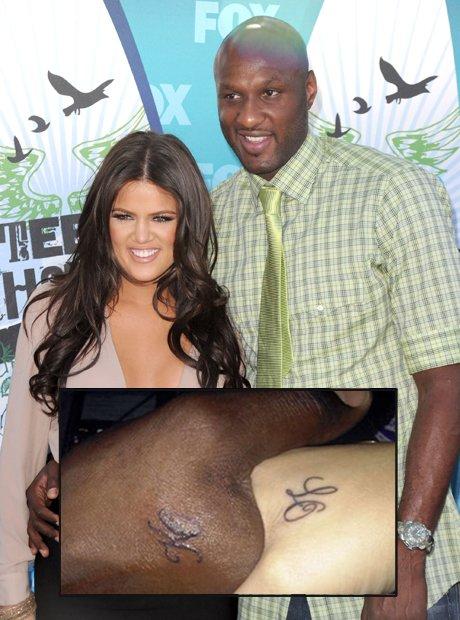 Khloe Kardashian Lamar tattoo