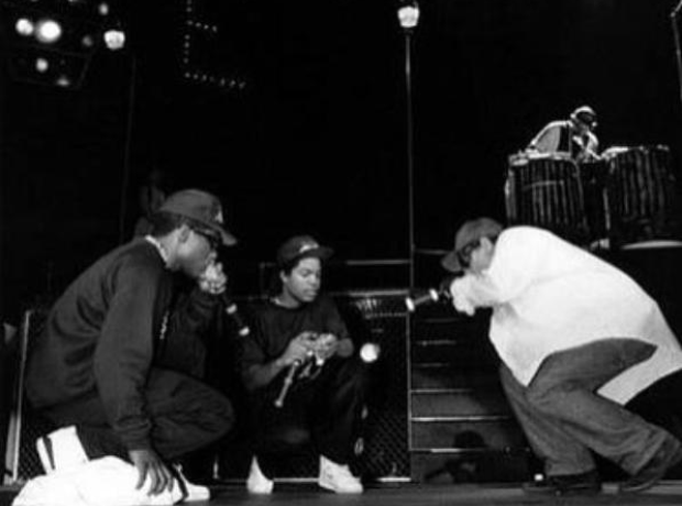 NWA on stage