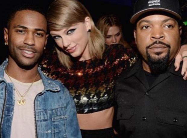 Big Sean, Taylor Swift, Ice Cube at VMAs