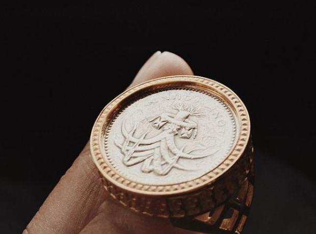 Skepta's sovereign ring