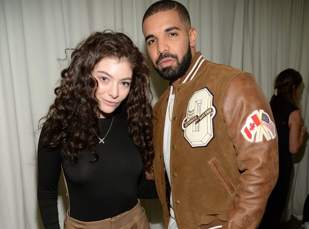 Drake and Lorde New York Fashion Week 2015