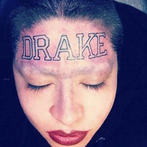 Drake Head Tattoo