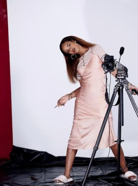 Rihanna Fadar shoot