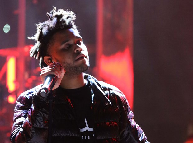 The Weeknd perfomres at Ultra music festival