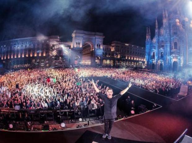 Martin Garrix Milan