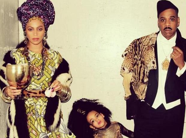 Beyonce Jay Z Blue Ivy Halloween 2015