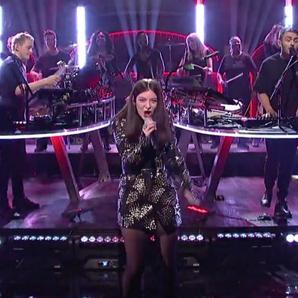 Disclosure Lorde SNL
