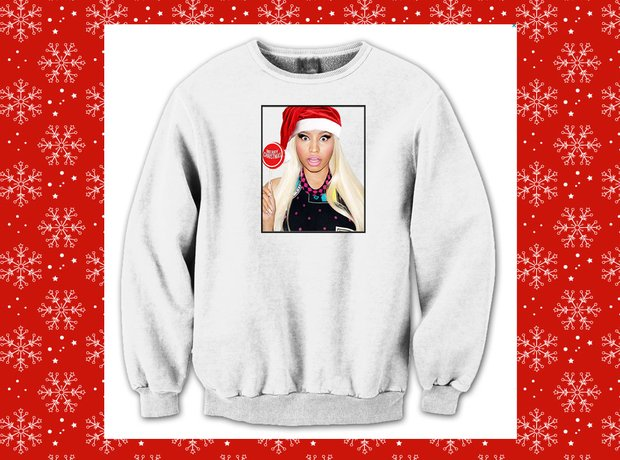 The Barbz are sure to go crazy for this Nicki Minaj Christmas ...