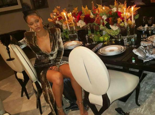 Rihanna Thanksgiving