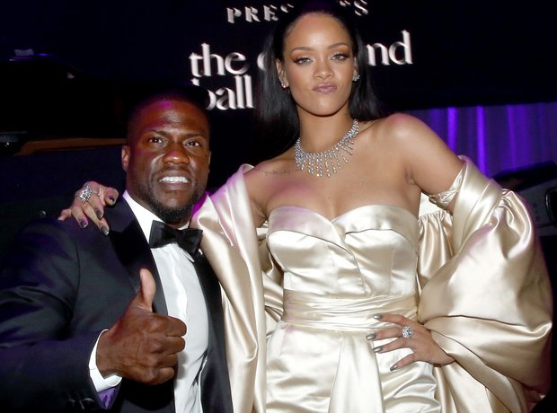 Rihanna Kevin Hart Diamond Ball