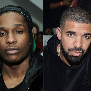Drake ASAP Rocky