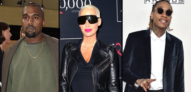 Kanye x Wiz x Amber Rose