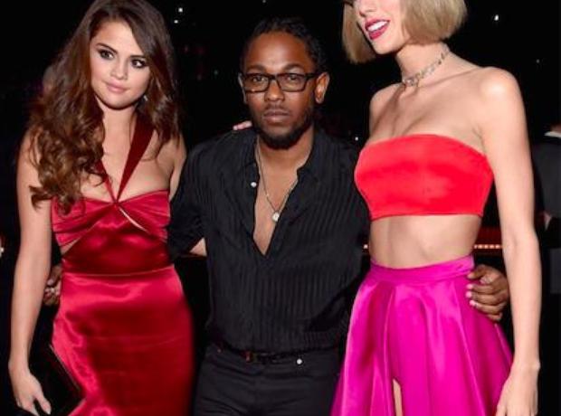 Kendrick, Selena, Taylor, Grammys 2016