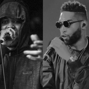 Chip and Tinie Tempah rapping