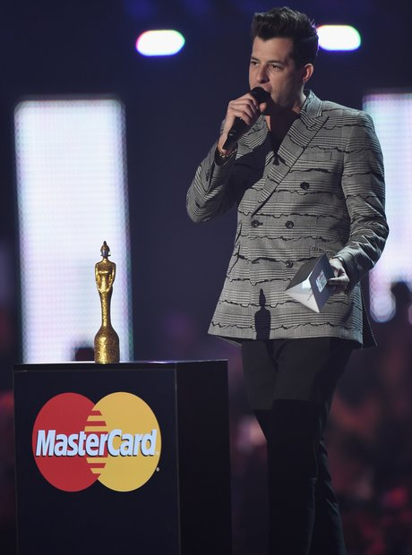 Mark Ronson Mastercard Album of the Year The Brits