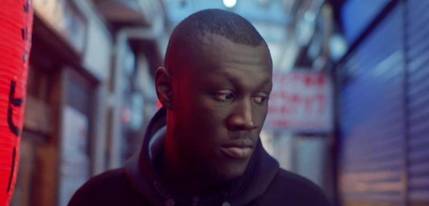 Stormzy walking the streets of Japan