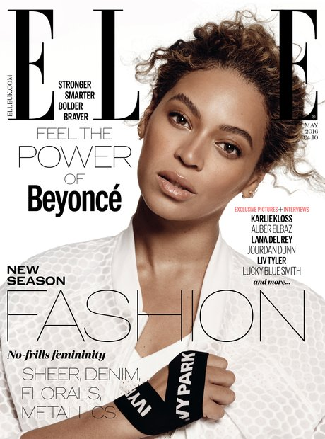 Beyonce Elle UK Cover