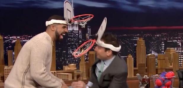 Drake and Jimmy Fallon