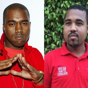 Kanye West look-a-like