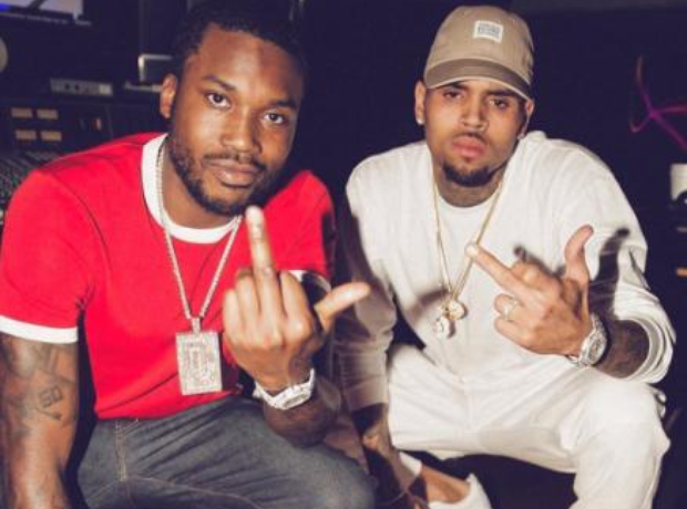 Chris Brown and Meek Mill