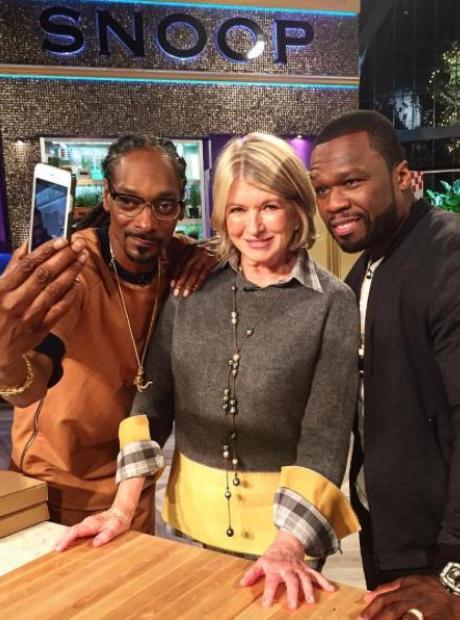 50 Cent Snoop Dogg Martha Stewart