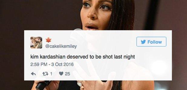 Kim Kardashian Paris Twitter Reactions