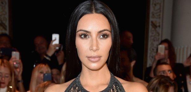Kim Kardashian Balmain : Paris Fashion Week
