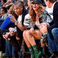 2. Beyonce and Jay Z attended the Warriors vs Spurs NBA game in Oakland, California.
