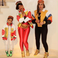 6. Beyonce, Blue Ivy and Bey's mother Tina Knowles killed it in their Salt-n-Pepa costumes.