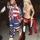 9. She was joined by boyfriend Tyga, who went as Juelz Santana from The Diplomats.