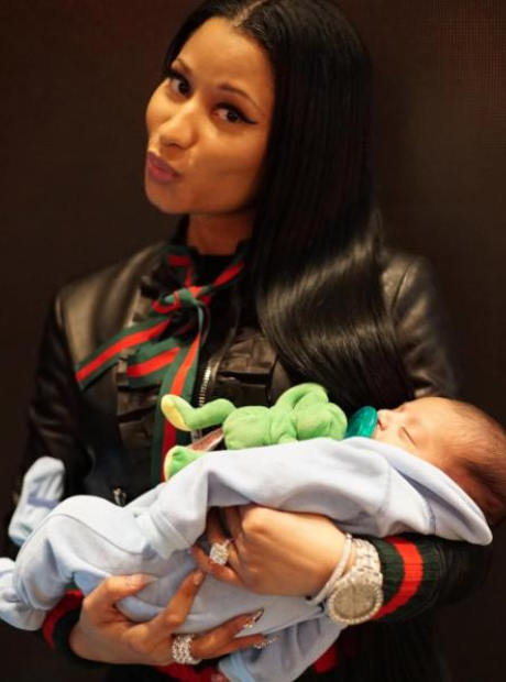 Nicki and Asahad Khaled