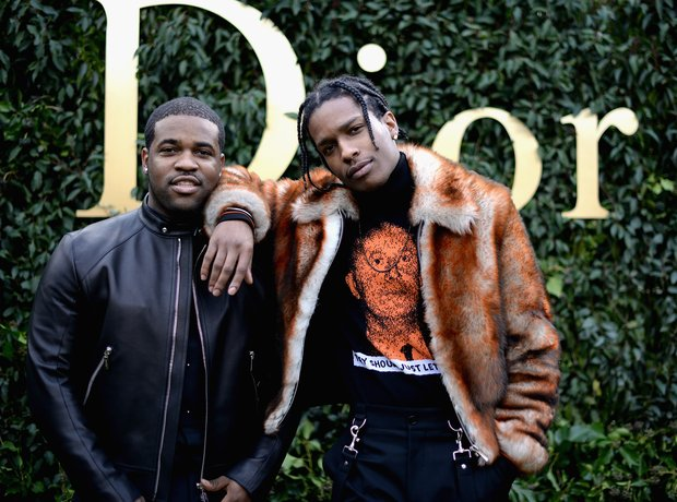 ASAP Ferg and ASAP Rocky Christian Dior