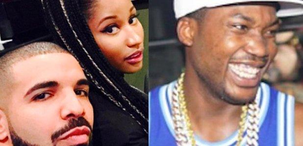 Drake Nicki Minaj Meek Mill