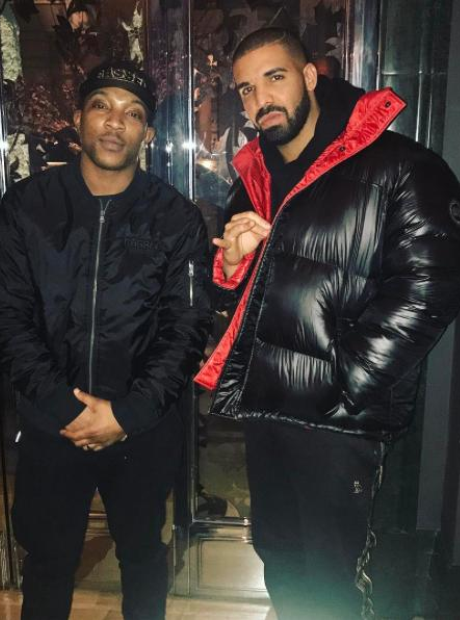 Drake and Ashley Walters
