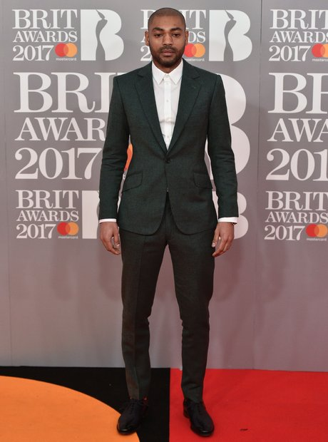 BRITs 2017 Red Carpet Arrivals Kano