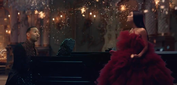 Ariana Grande and John Legend Beauty and the Beast