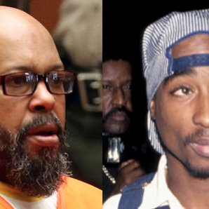 Suge Knight and Tupac