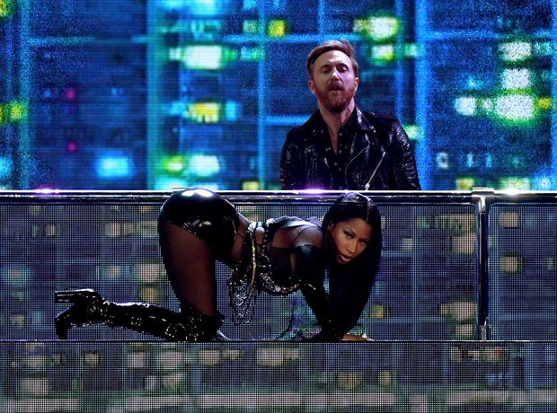 Nicki Minaj's performance at the BBMA's 2017