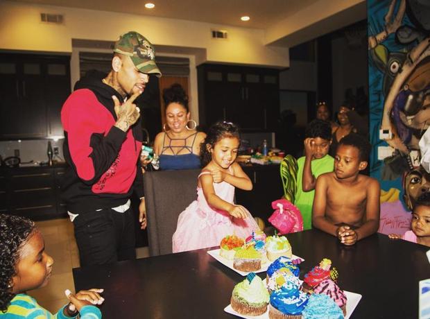 Chris Brown Royalty Birthday