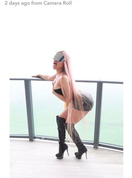 Nicki Minaj on Snapchat