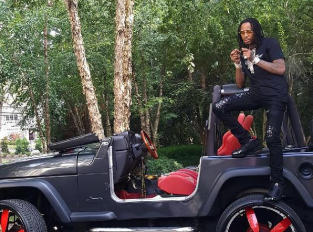 Quavo's custom Jeep