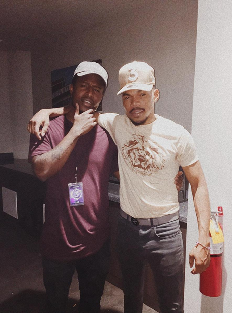 Chance The Rapper And Intern